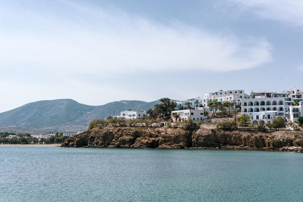 landscape photo of seaside buildings