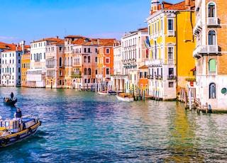 landscape photo of a Venice canal