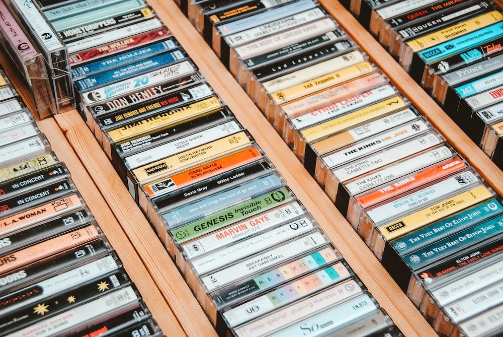 assorted title cassette lot