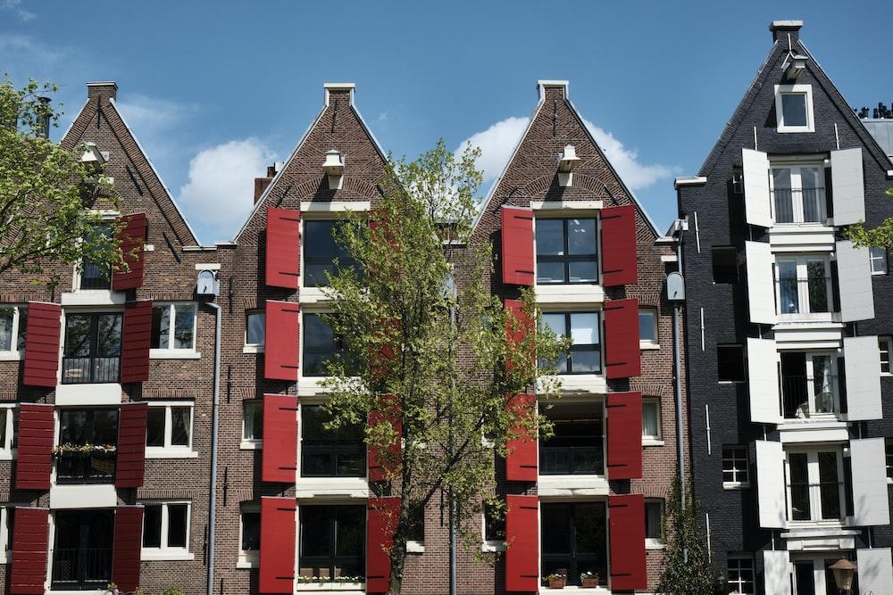 red concrete building