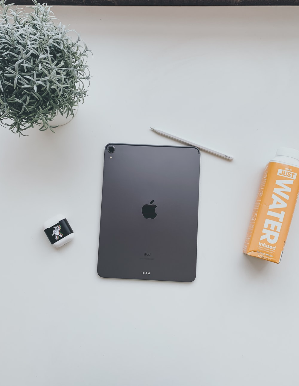 gray iPad