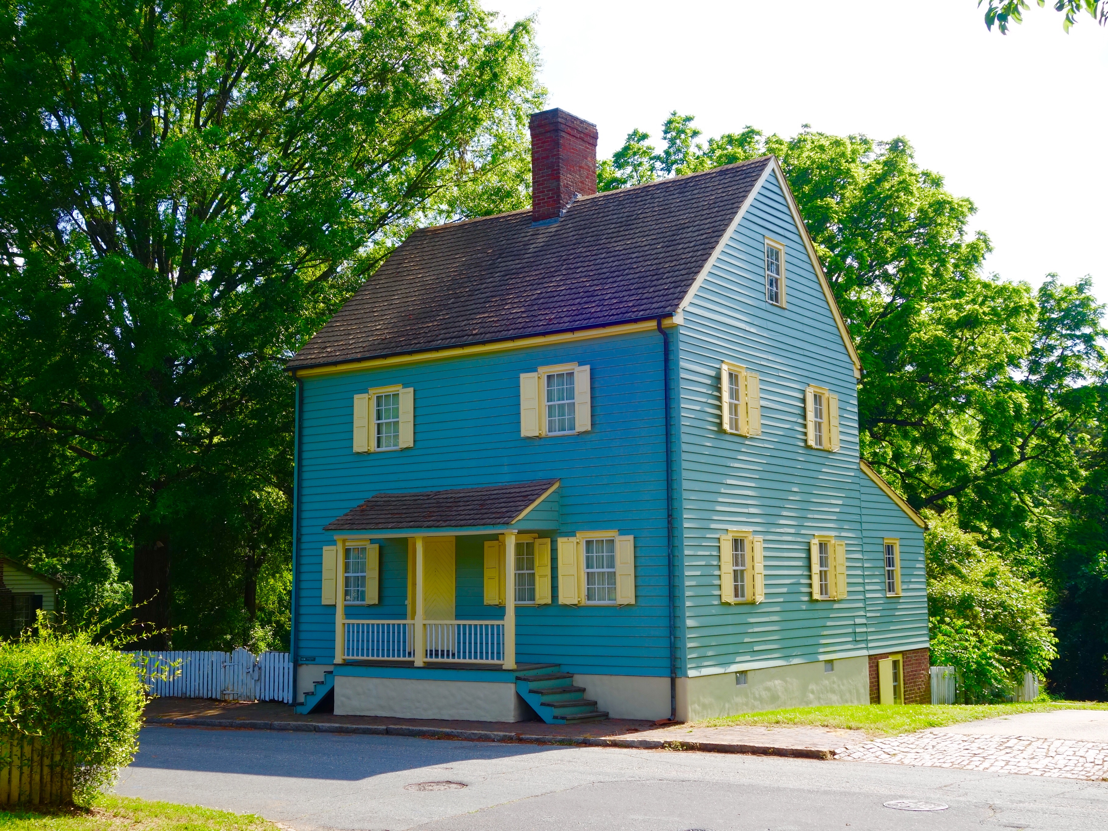 Beautiful example of 18th century home of the Moravian community in Salem, NC.