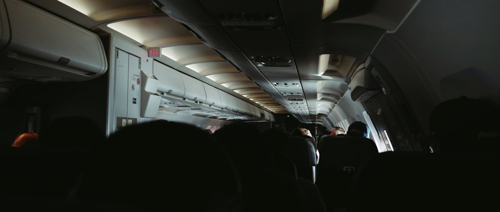 people inside airliner