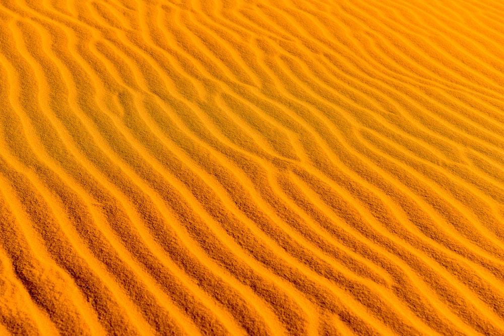 high-angle photography of desert