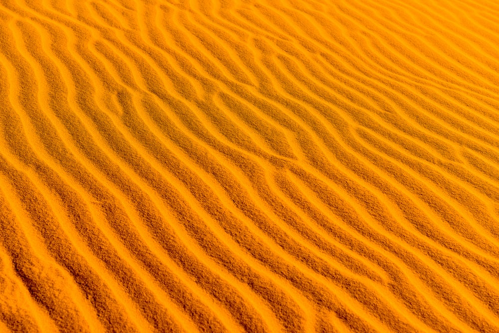 high-angle photography of desert