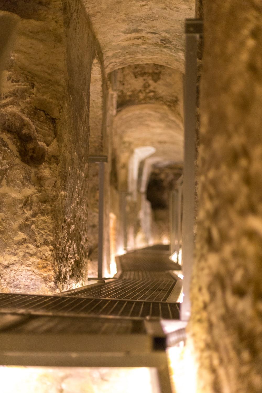 empty hallway interior