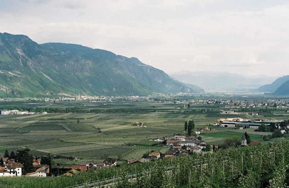 landscape photo of green mountains
