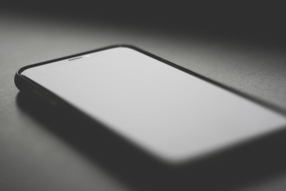 black phone close-up photography