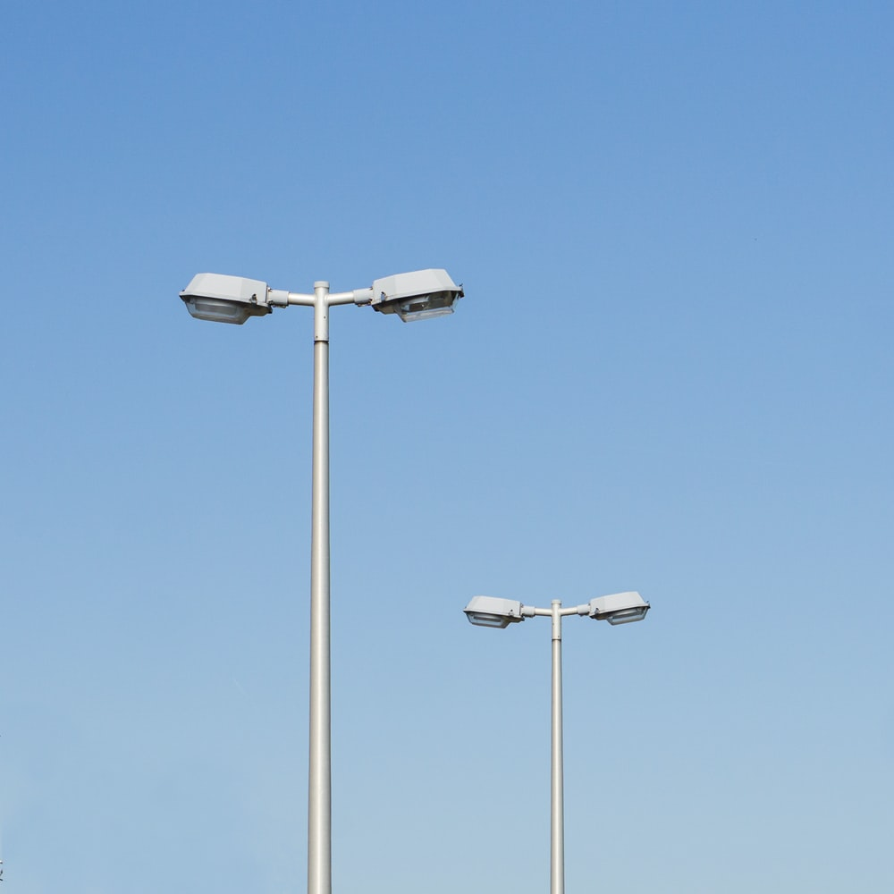 two road lights