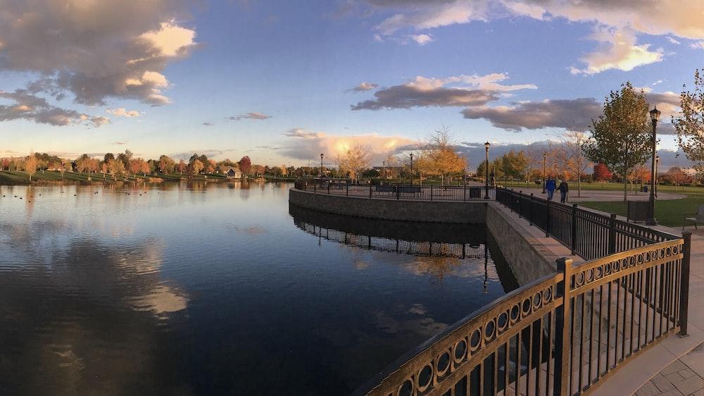 lake near park