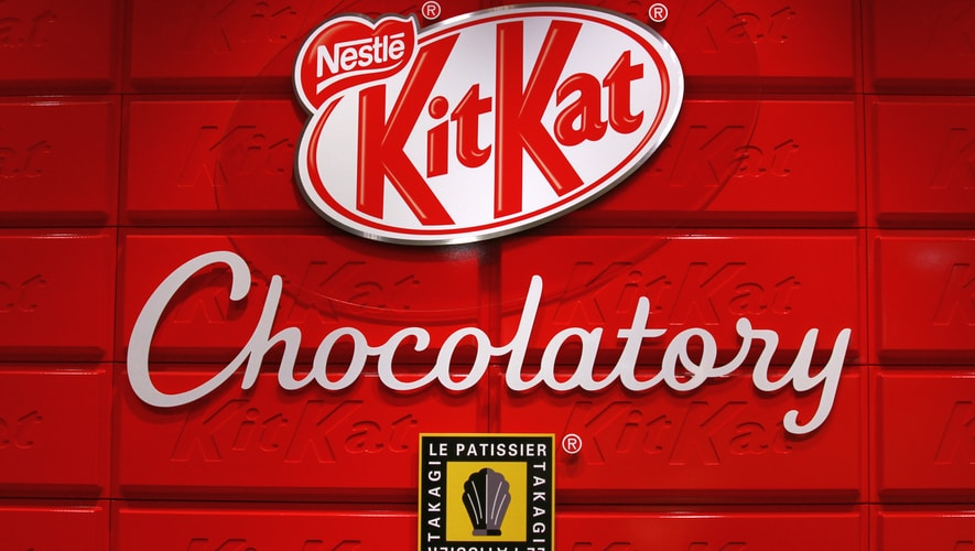 Nestle Kitkat chocolatory