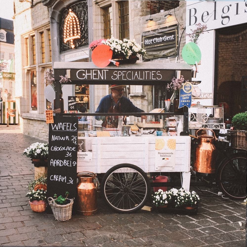 ghent specialities food cart