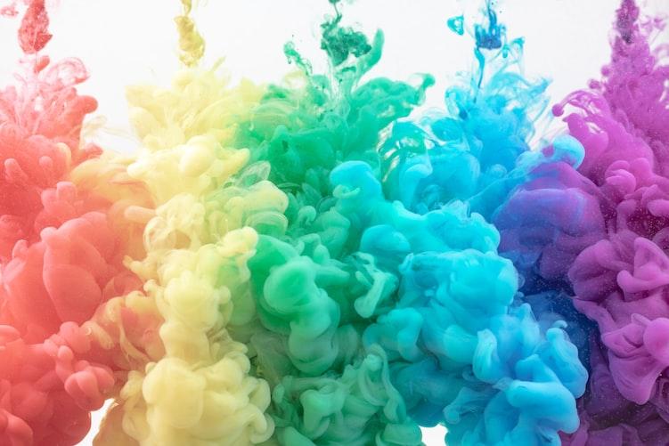 色,色彩,心理学,不思議,力,イメージ,カラー,操られている,ブランド,ロゴ,赤,ピンク,オレンジ,黄,緑,青,紫,茶,白,グレー,黒