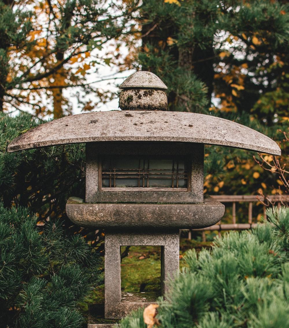 Brown Concrete Garden Decor Photo