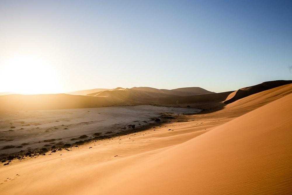 brown sand during daytime