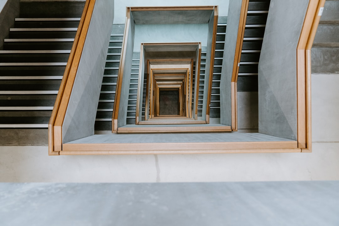 grey concrete staircase during daytime