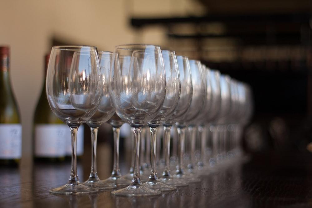 wine glass lot