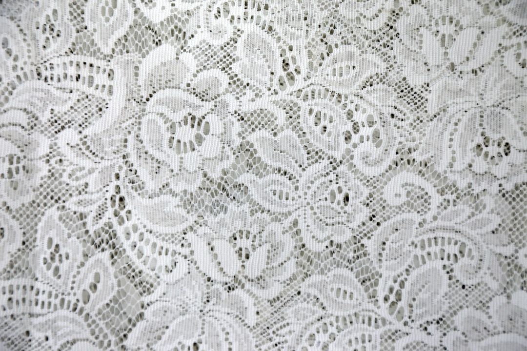 This piece of lace  was once a part of a tablecloth. You don't see too many of those these days.