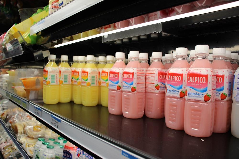 Calpico bottle lot