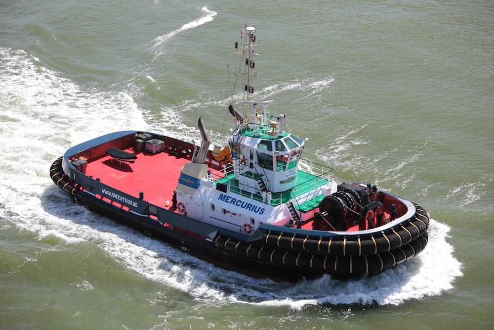 Mercurius boat on sea