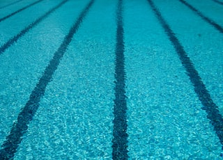 swimming pool close-up photography