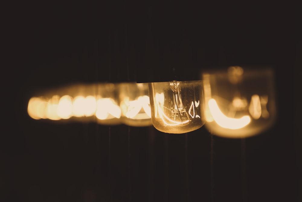 clear CFL bulb
