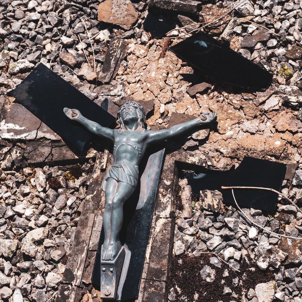 Crucifix wall decor