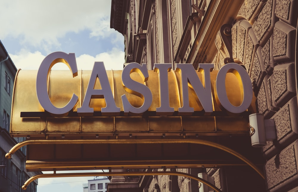 shallow focus photo of Casino signage