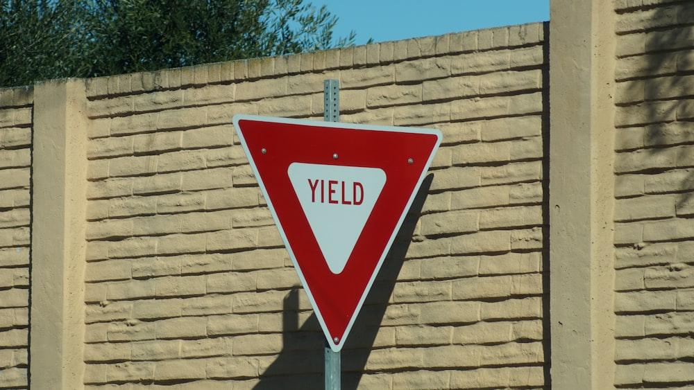 Yield signage