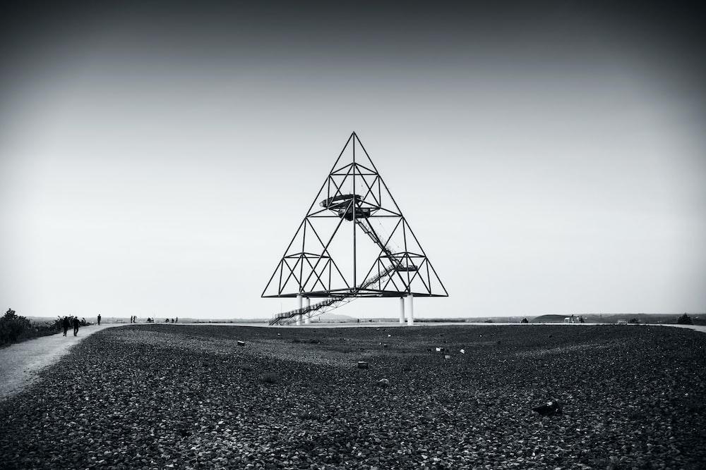 triangular building frame