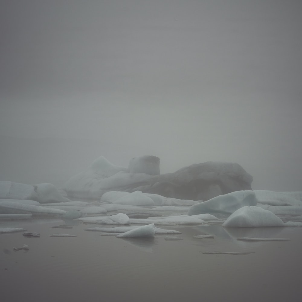melting iceberg