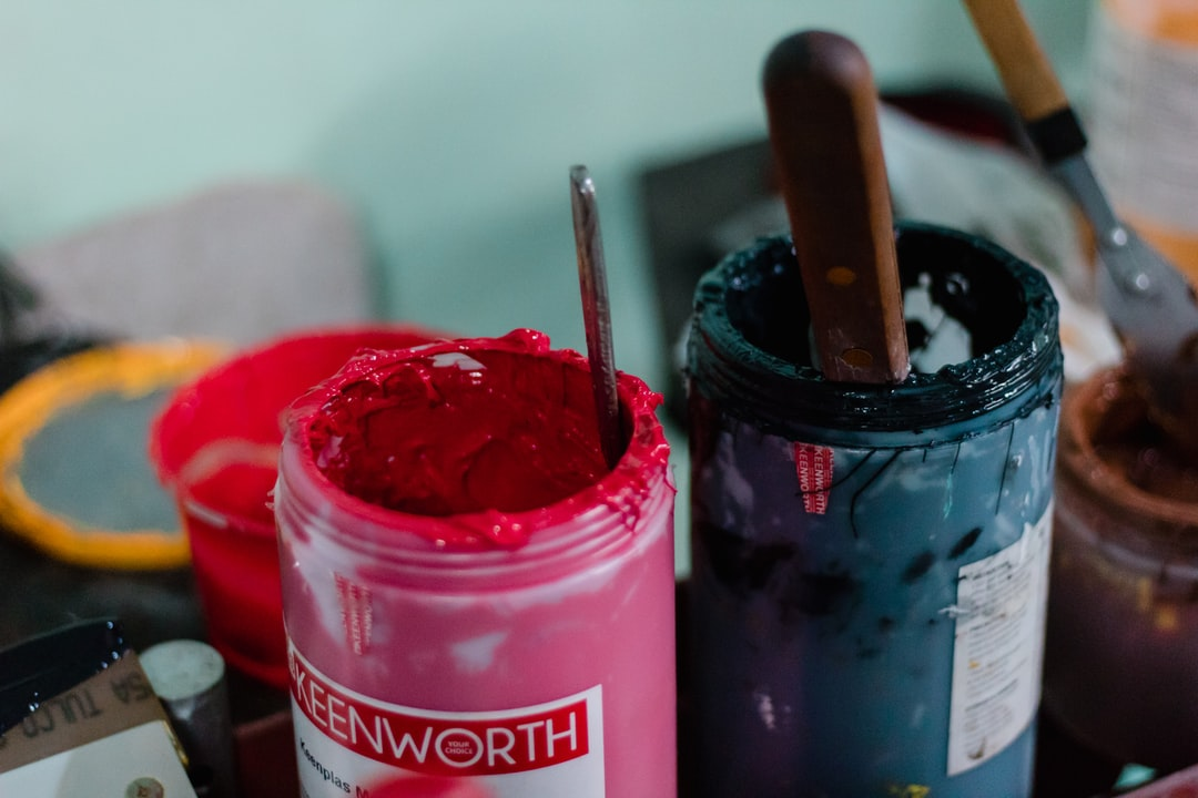 Materials used in screen printing
