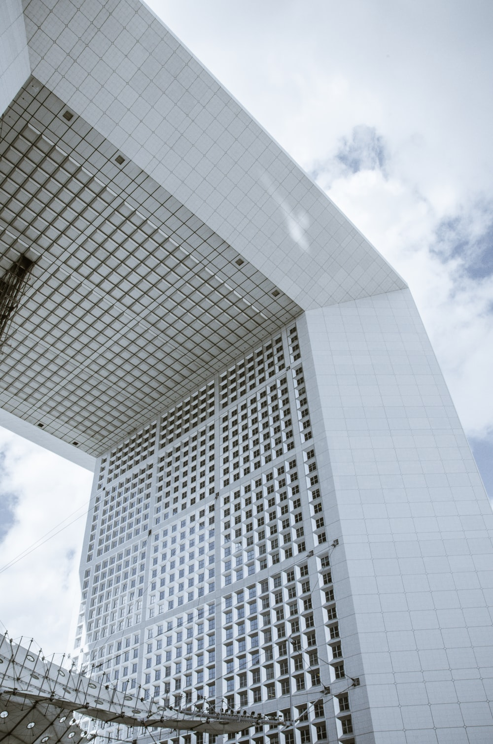 white concrete building during day