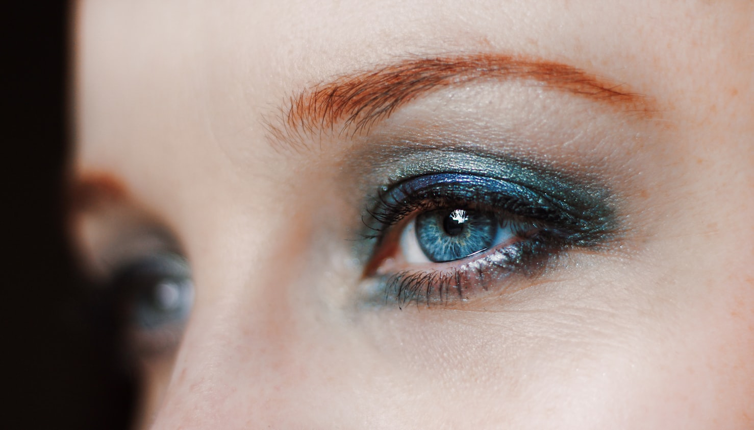 Photo of a woman with eyeliner