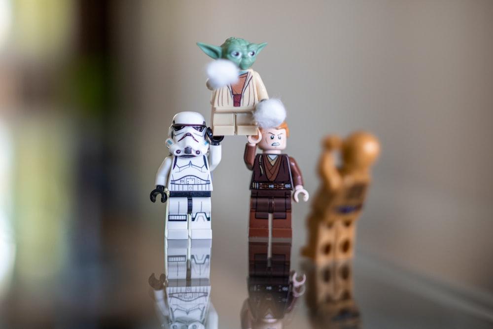 LEGO Star Wars action figures