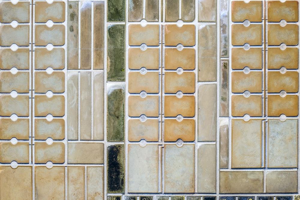 brown concrete floor