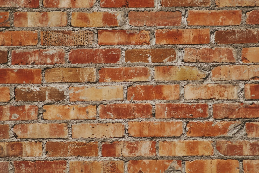 maroon brick surface