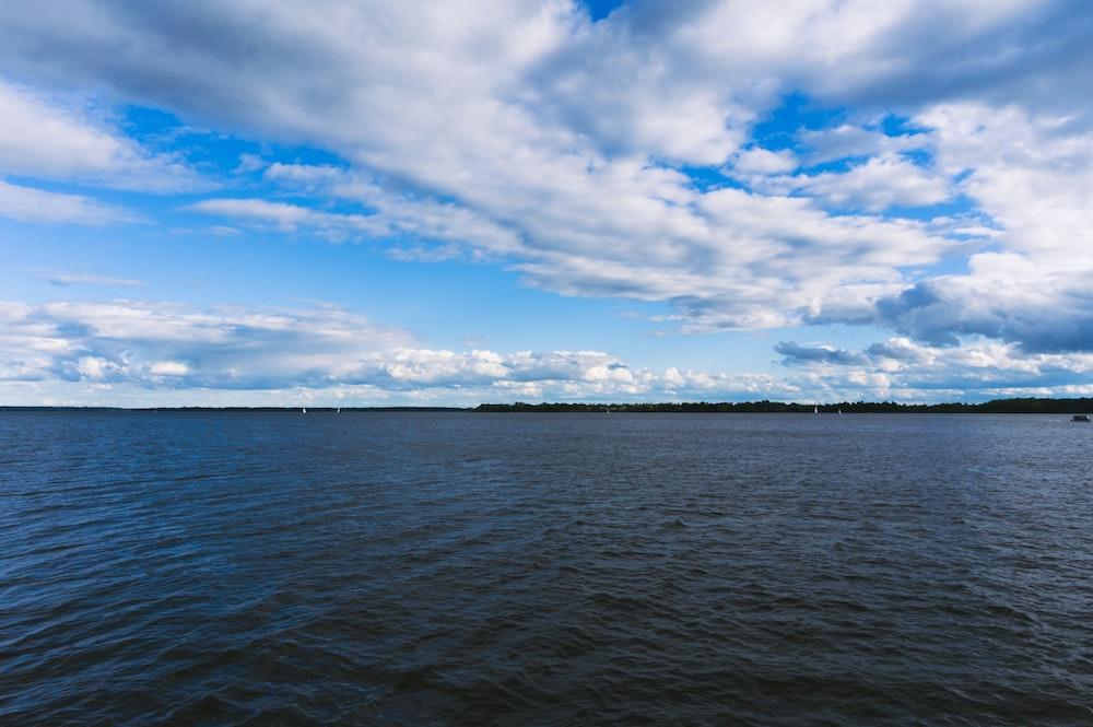 calm body of water during daytim
