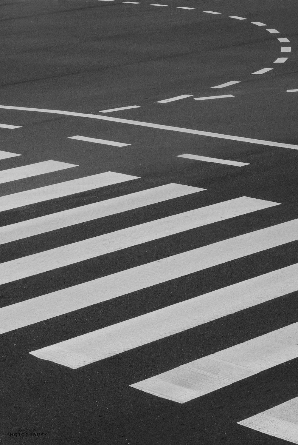close-up photo of pedestrian lane