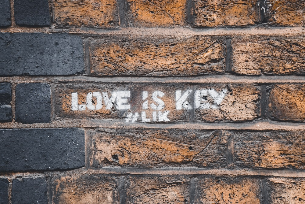 Love is Key text