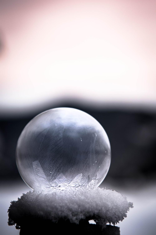 clear ball decor
