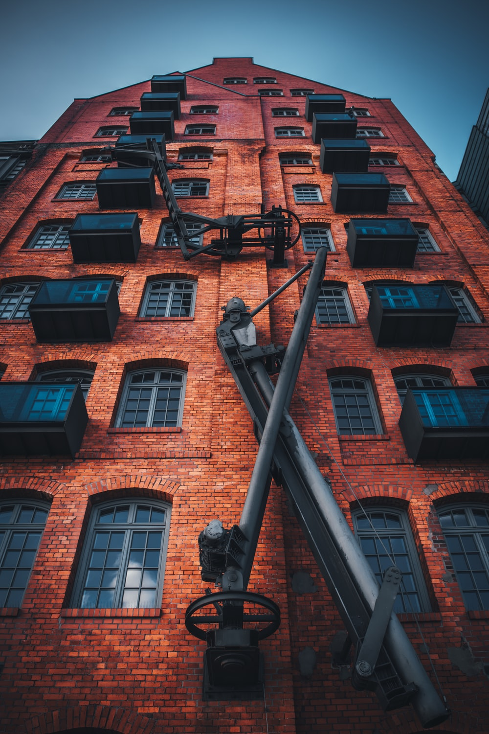 high angle photography of high rise building