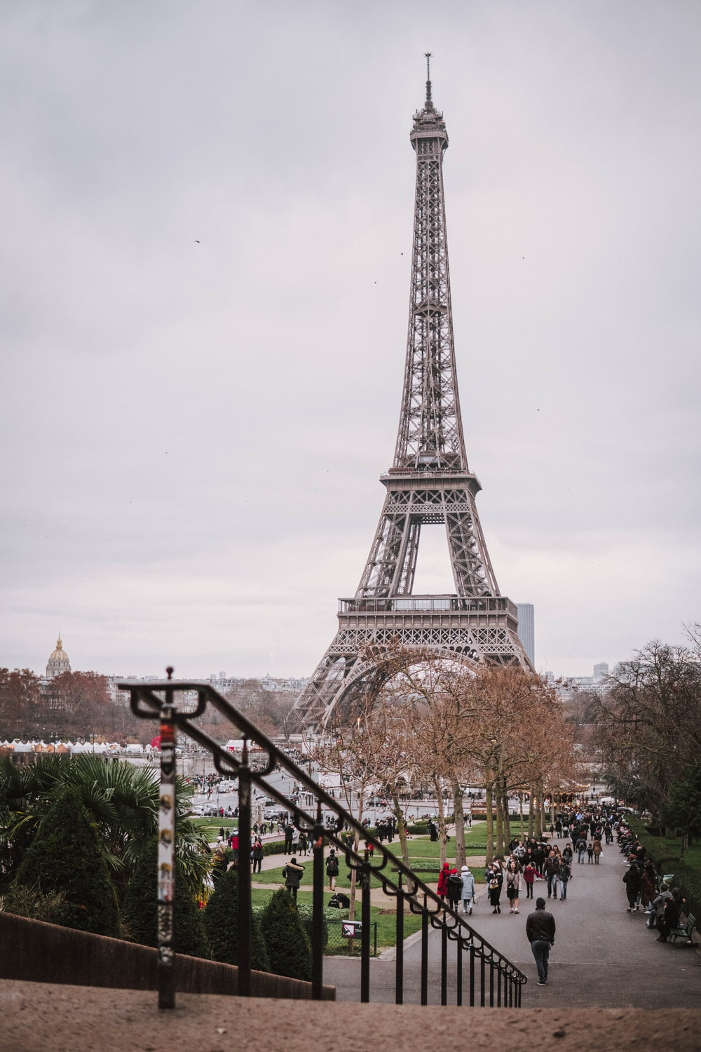people near Eiffel Tower, Paris during day