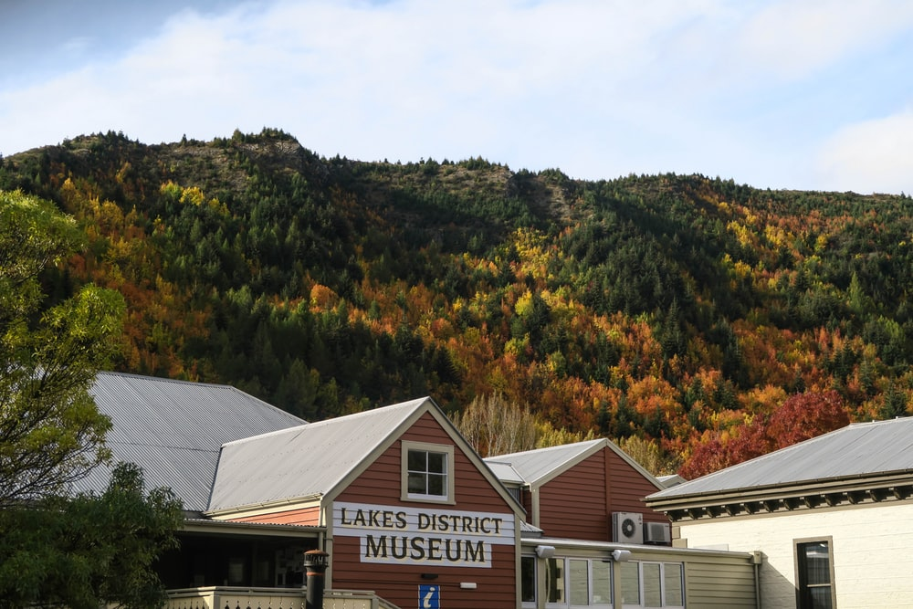 brown and white Lakes District Museum during daytime