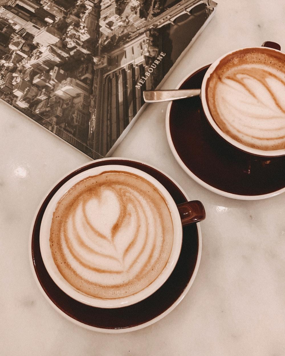 two lattes