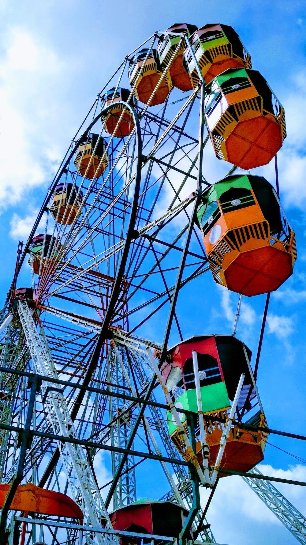 multicolored Ferris wheel photo