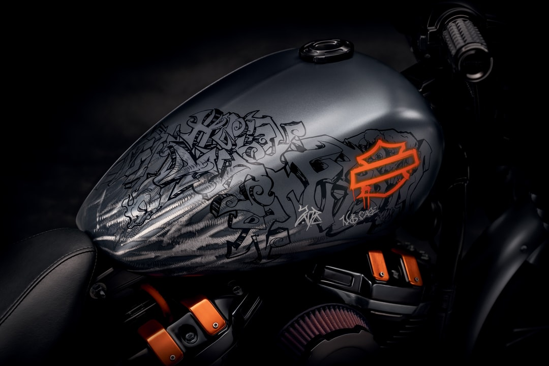 Grey and Black Cafe Racer Motorcycle - unsplash