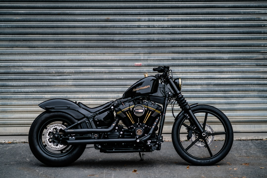 Black Motorcycle - unsplash