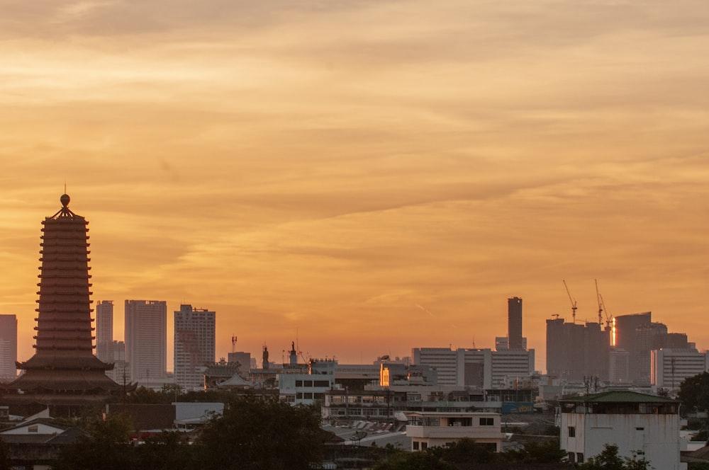 high-angle photography of urban area