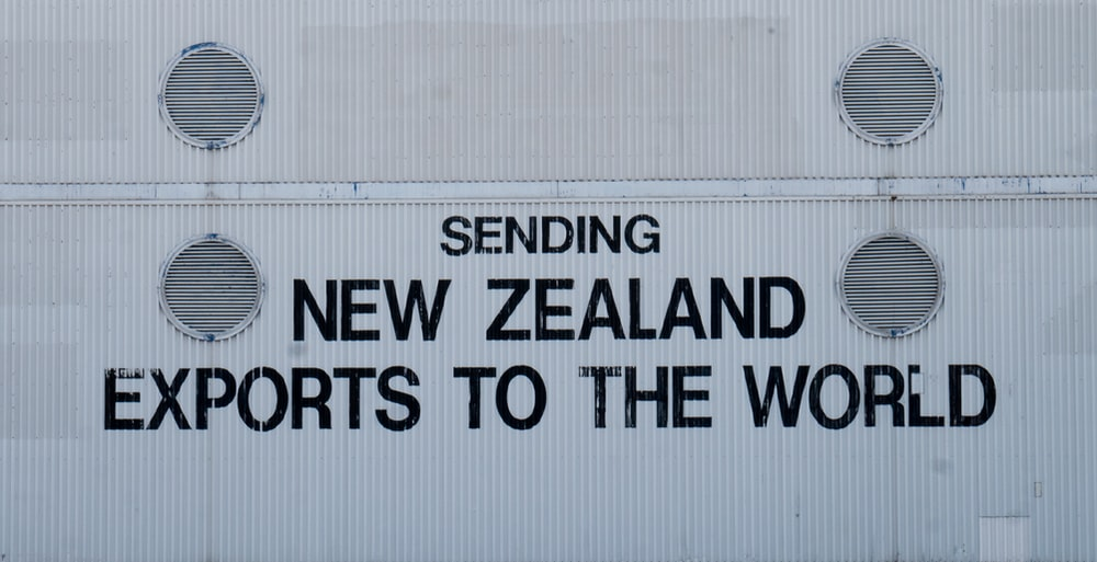 Sending New Zealand Exports to the World text